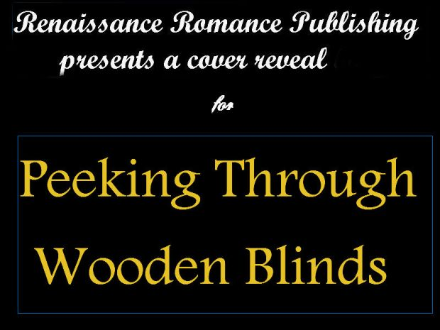 Peeking Through Wooden Blinds Cover reveal